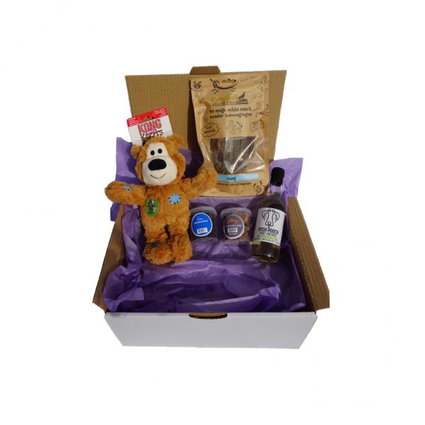Maandelijkse verrassingsbox voor honden